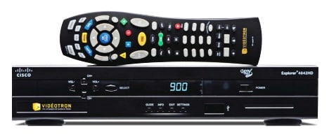 Televisions - Videotron HD Cable Box 4642HD