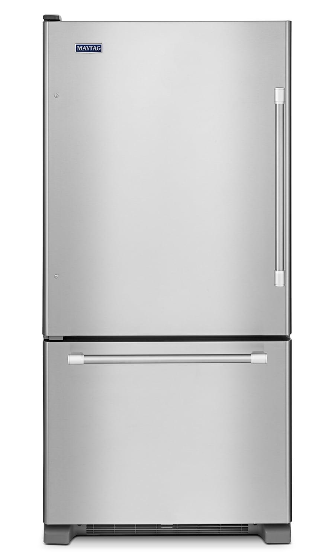 Maytag Left Hand Refrigerator (18.5 Cu. Ft.) MBL1957DEM