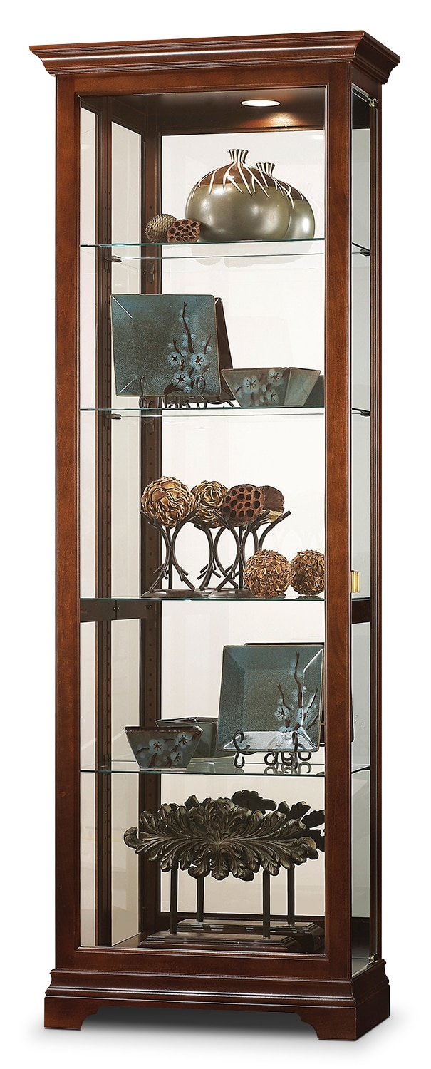 Accent and Occasional Furniture - Stevenson Curio - Cherry
