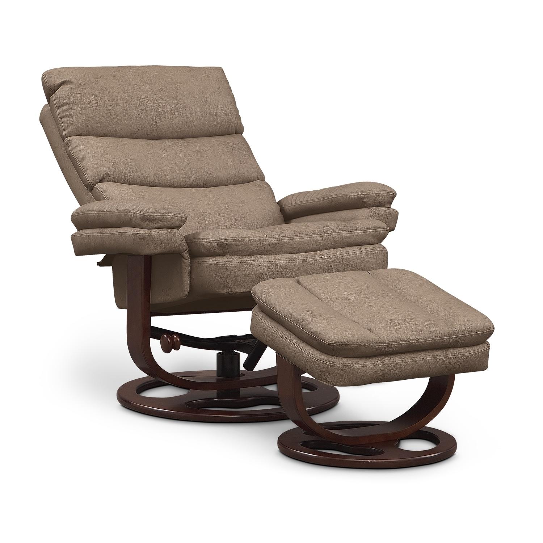 Living Room Furniture-Matador Reclining Chair and Ottoman | 1500 x 1500 · 673 kB · jpeg