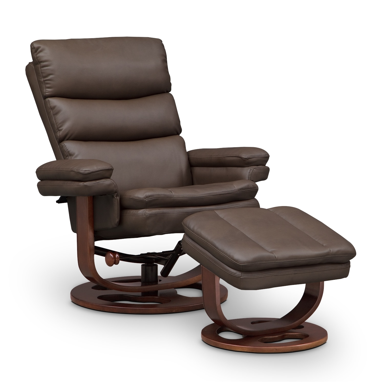 [Matador Reclining Chair and Ottoman]