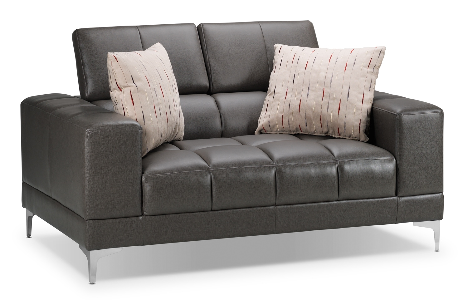 Living Room Furniture - Bel-Air Loveseat - Elephant