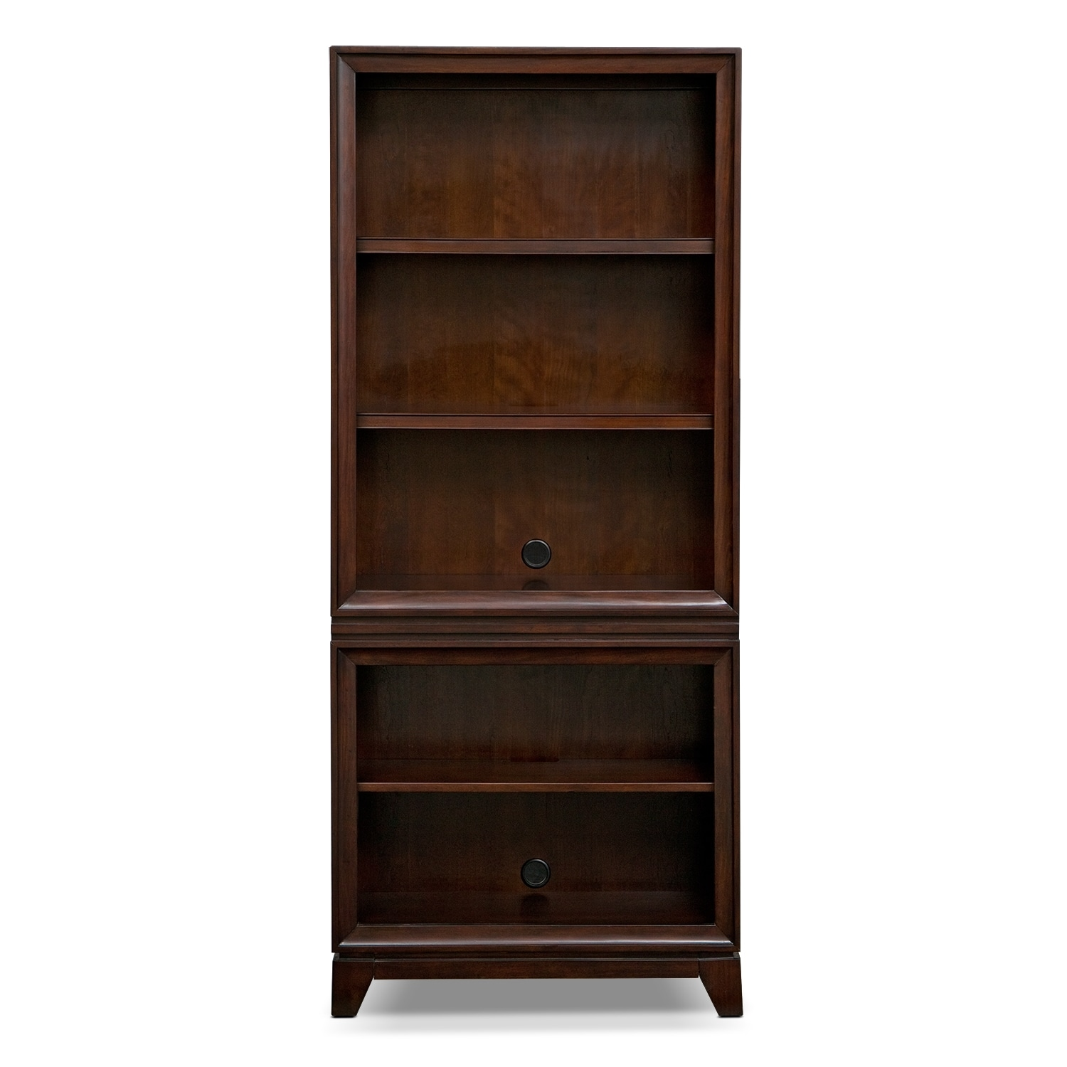 Perfect Computer Desk Home Office Workstation Table Bookcase With In Espresso