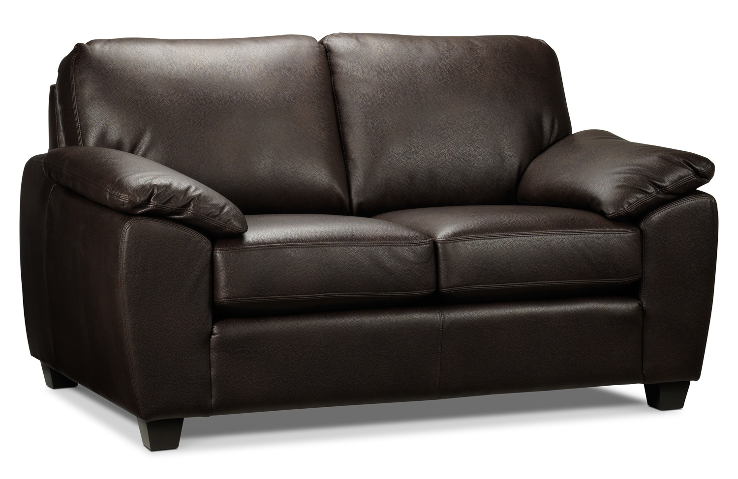 Living Room Furniture - Trent Loveseat - Espresso