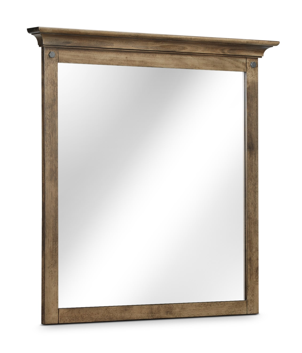 Hartwell Mirror - Brown Driftwood