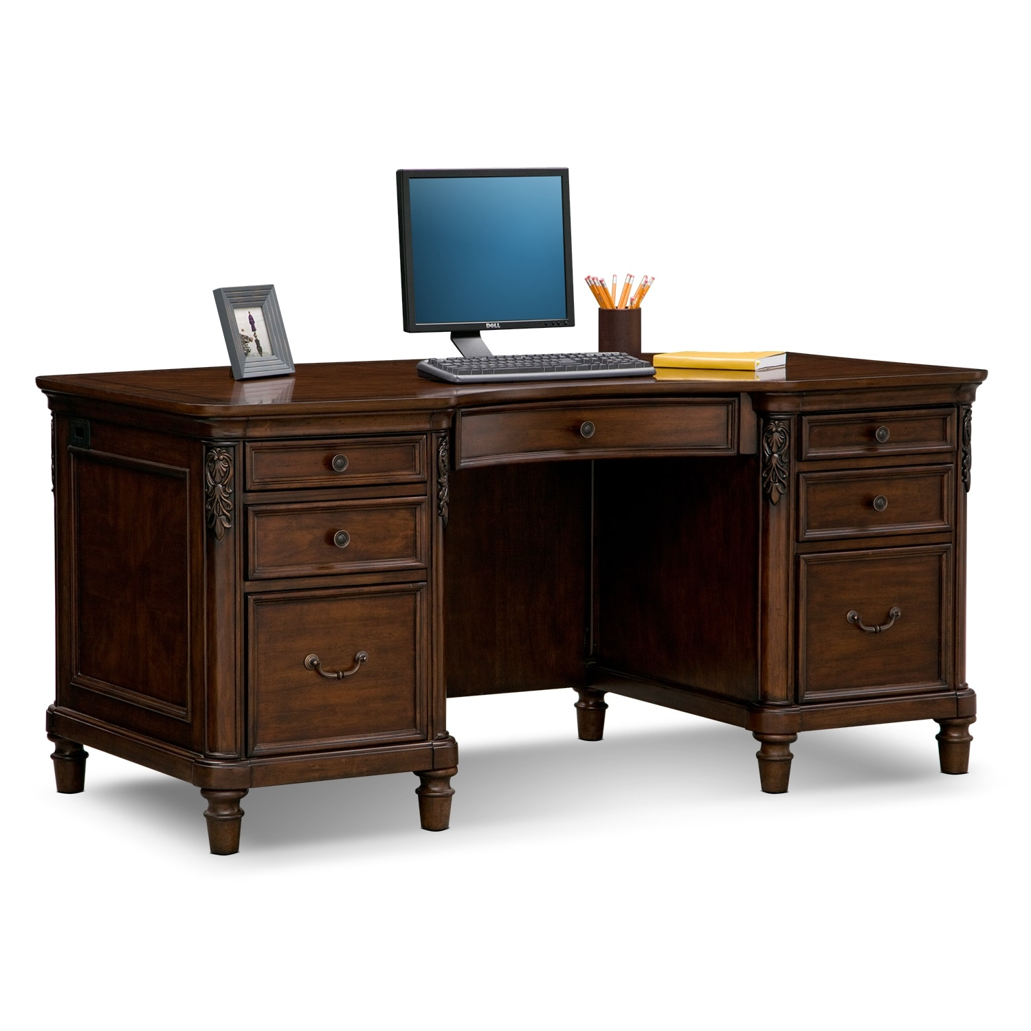 [Ashland Executive Desk]