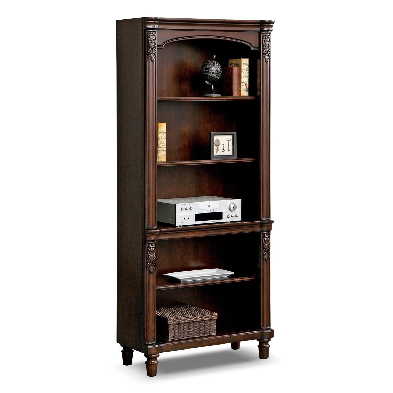 Ashland Bookshelf Cherry Value City Furniture