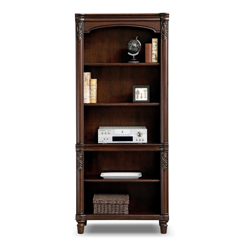 ashland home office bookcase value city furniture