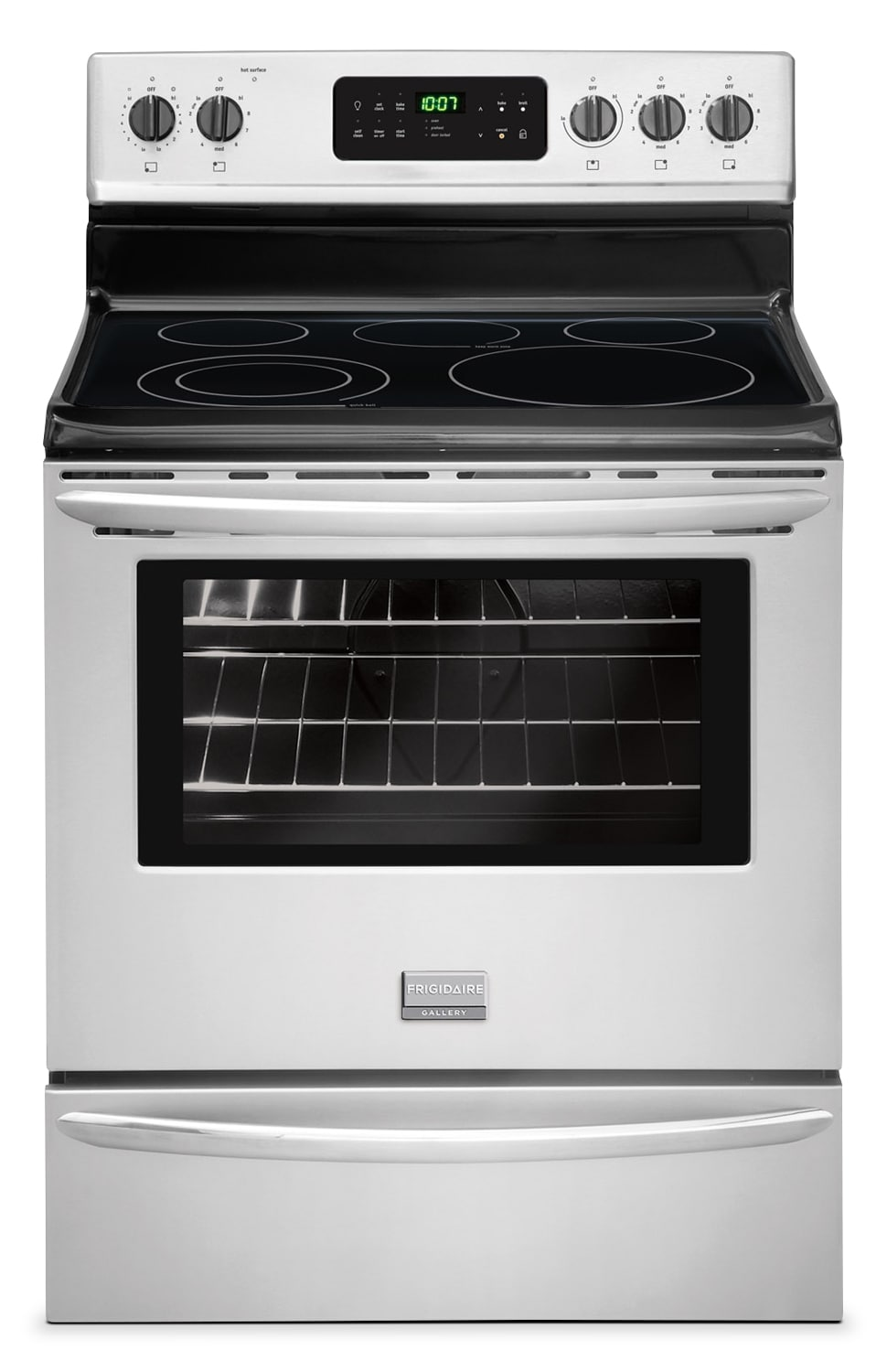 Cooking Products - Frigidaire Gallery Stainless Steel Freestanding Electric Range (5.4 Cu. Ft.) - CGEF3030PF