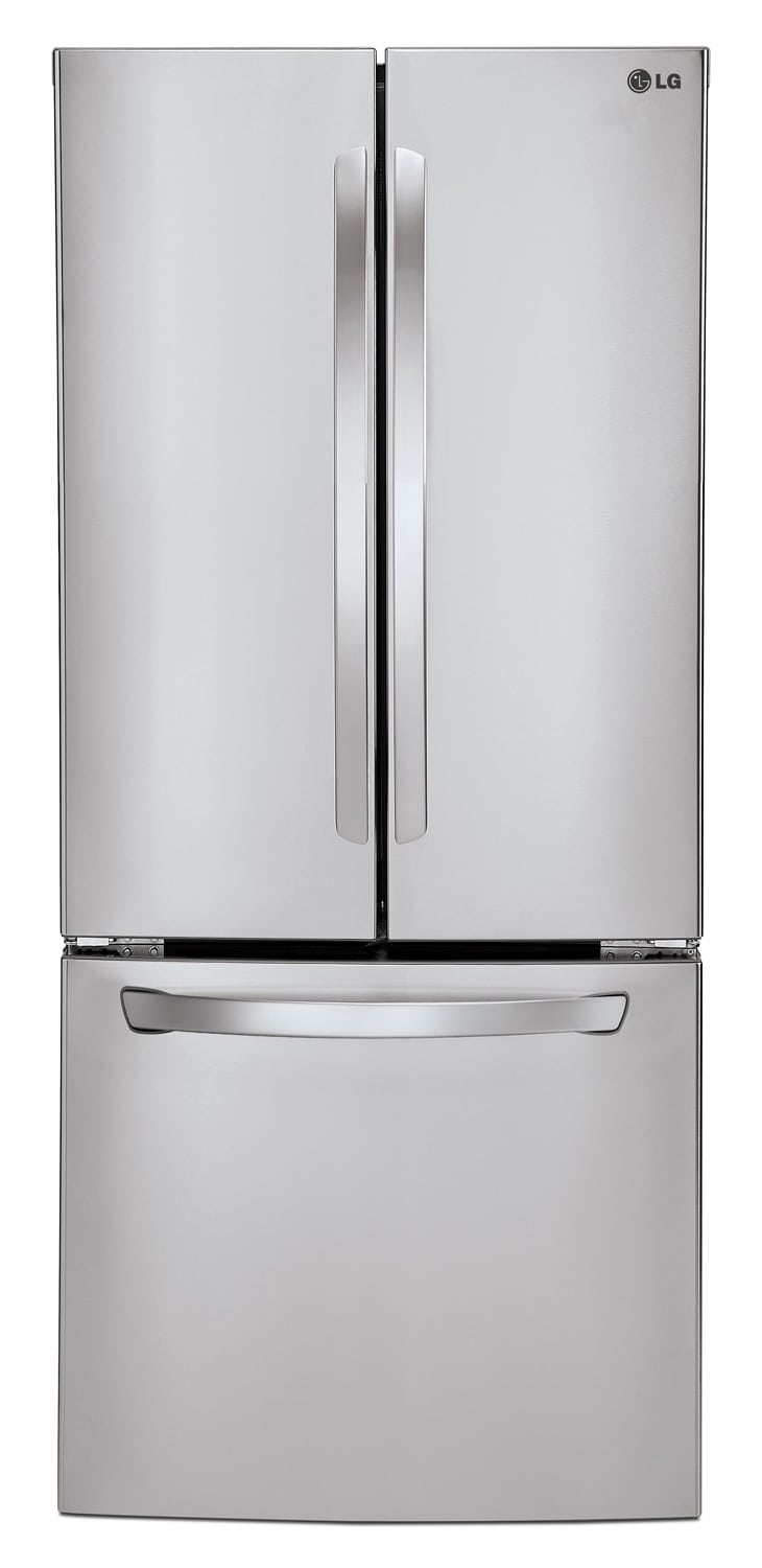 [LG Appliances Stainless Steel French Door Refrigerator (21.8 Cu. Ft.) - LFC22770ST]