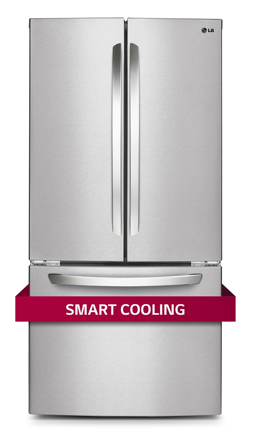 Refrigerators and Freezers - LG Appliances Stainless Steel French Door Refrigerator (23.9 Cu. Ft.) - LFC24786ST