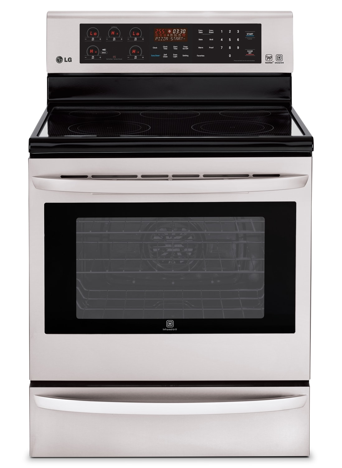 Cooking Products - LG Appliances Range LRE6385ST