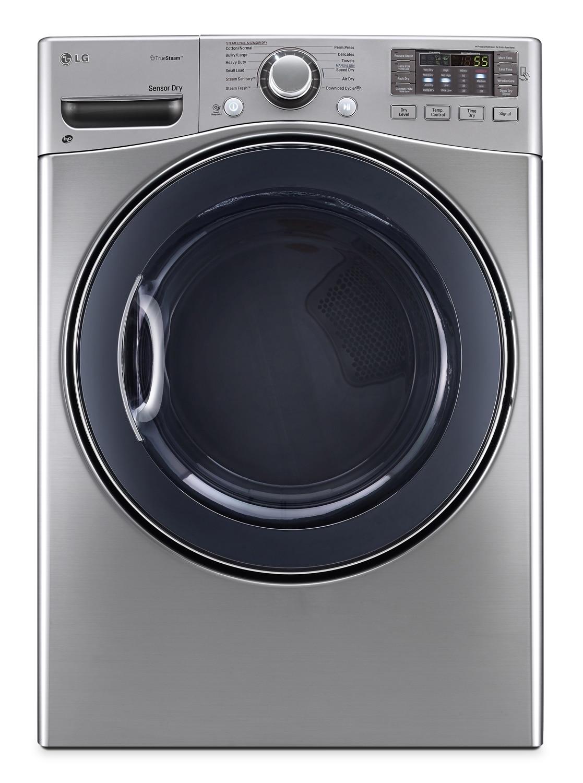 Lg Appliances Graphite Steel Front Load Washer 5 2 Cu Ft