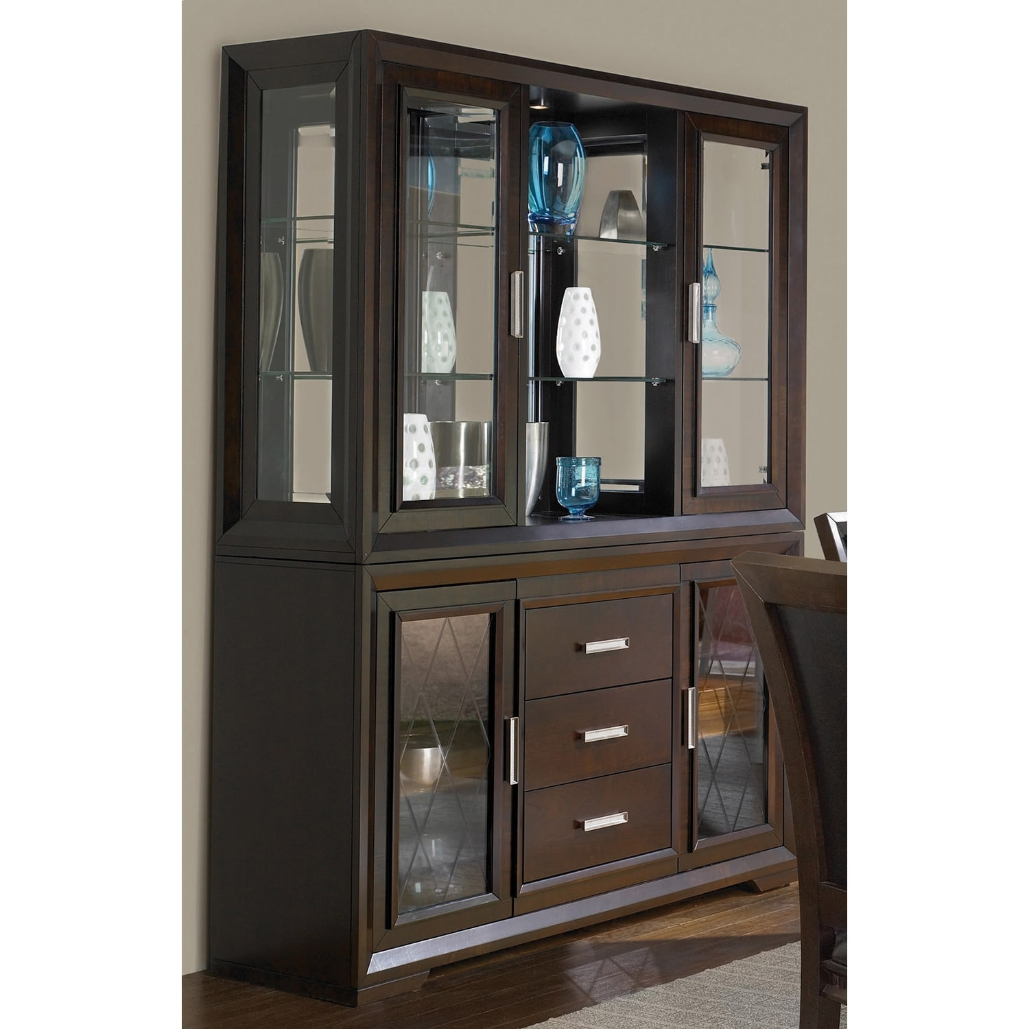 Dining Room Furniture - Brentwood Buffet & Hutch