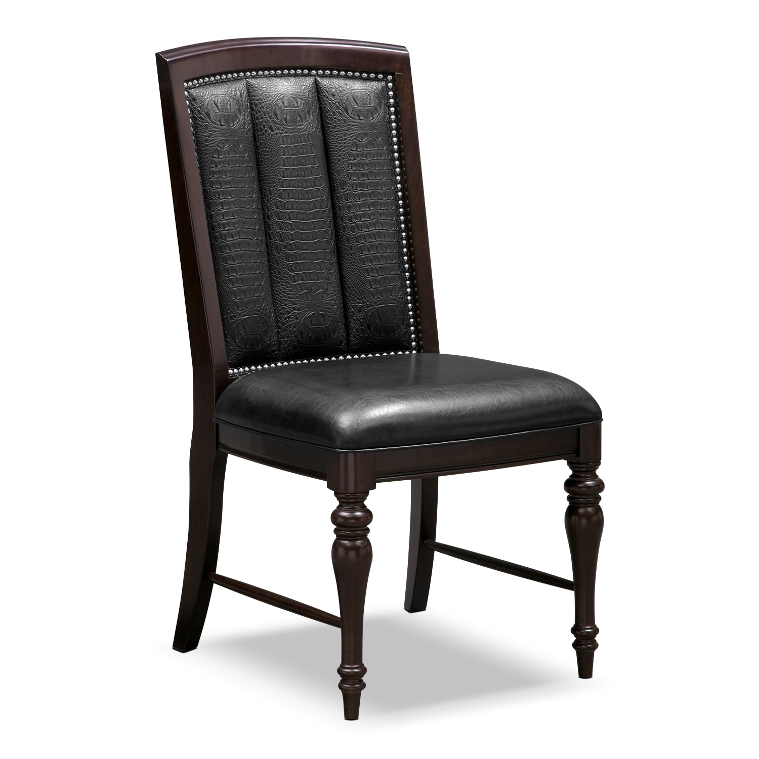esquire side chair cherry american signature furniture
