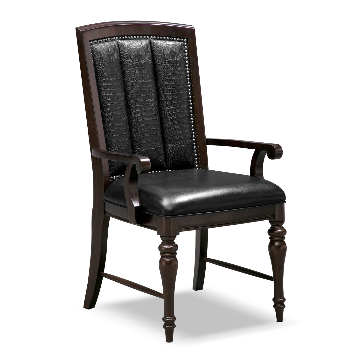 Esquire dining room arm chair value city furniture for Dining room arm chairs