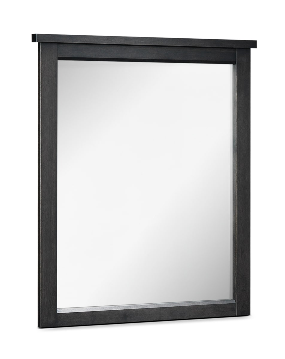 Bedroom Furniture - Bond Mirror - Charcoal