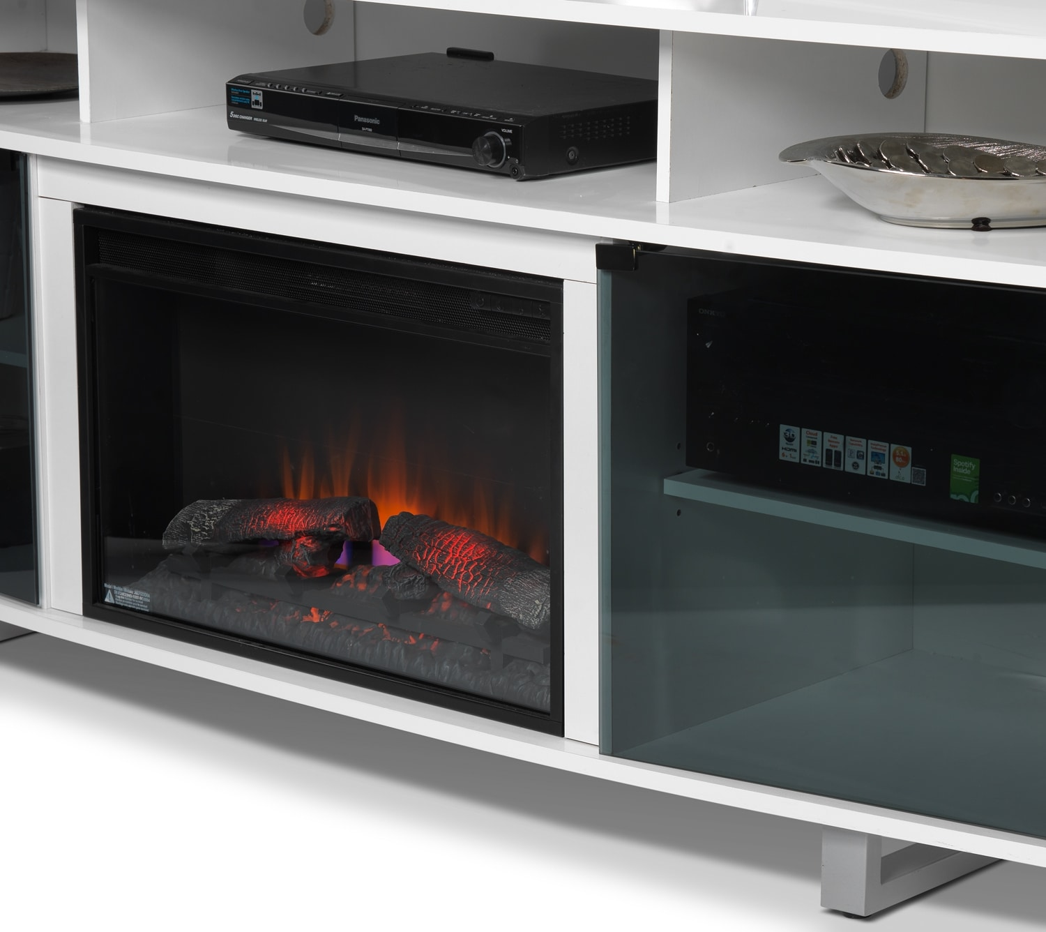 Sorenson Fireplace TV Stand