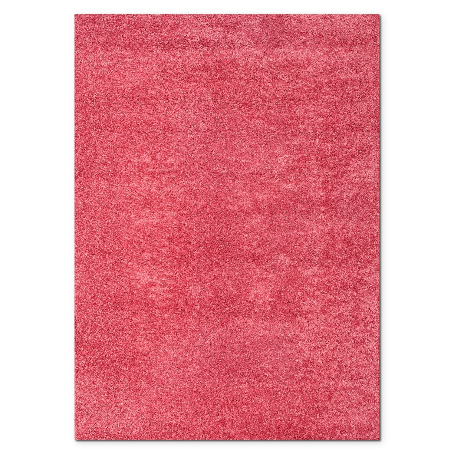 Domino Pink Shag Area Rug 5 39 X 8 39 Value City Furniture