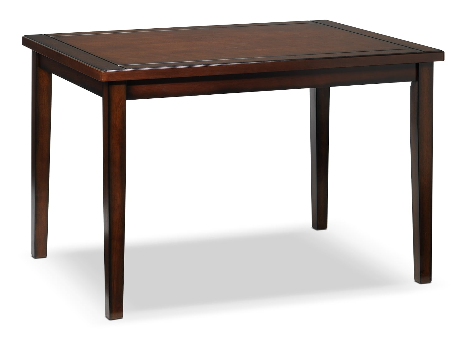 Casual Dining Room Furniture - Boyd Table - Dark Brown Cherry
