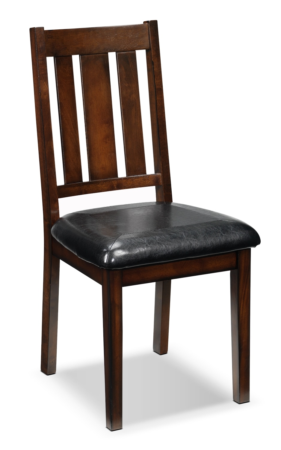 Casual Dining Room Furniture - Boyd Side Chair - Dark Brown Cherry