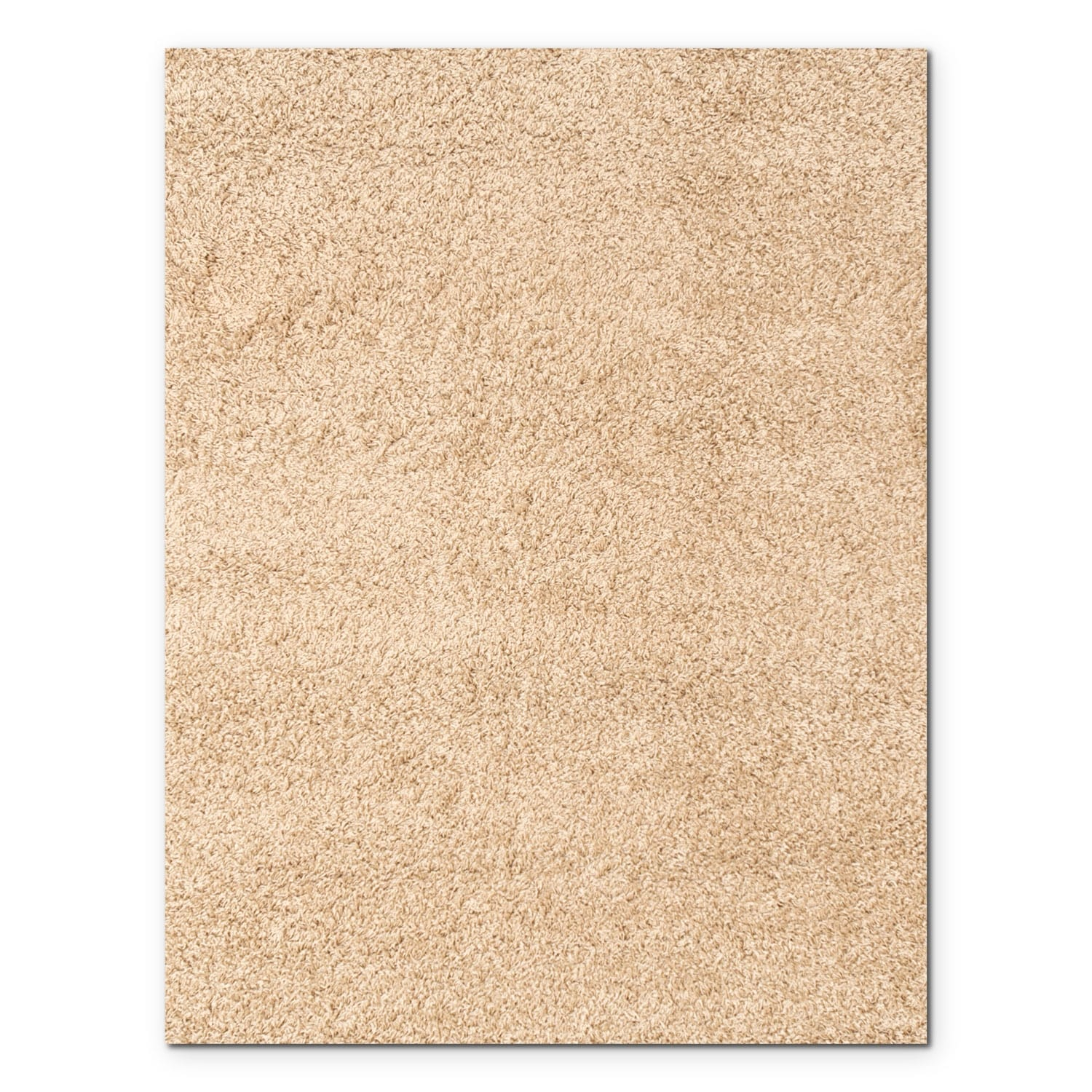 Domino taupe shag area rug 8 39 x 10 39 value city furniture for Living room rugs 8 by 10