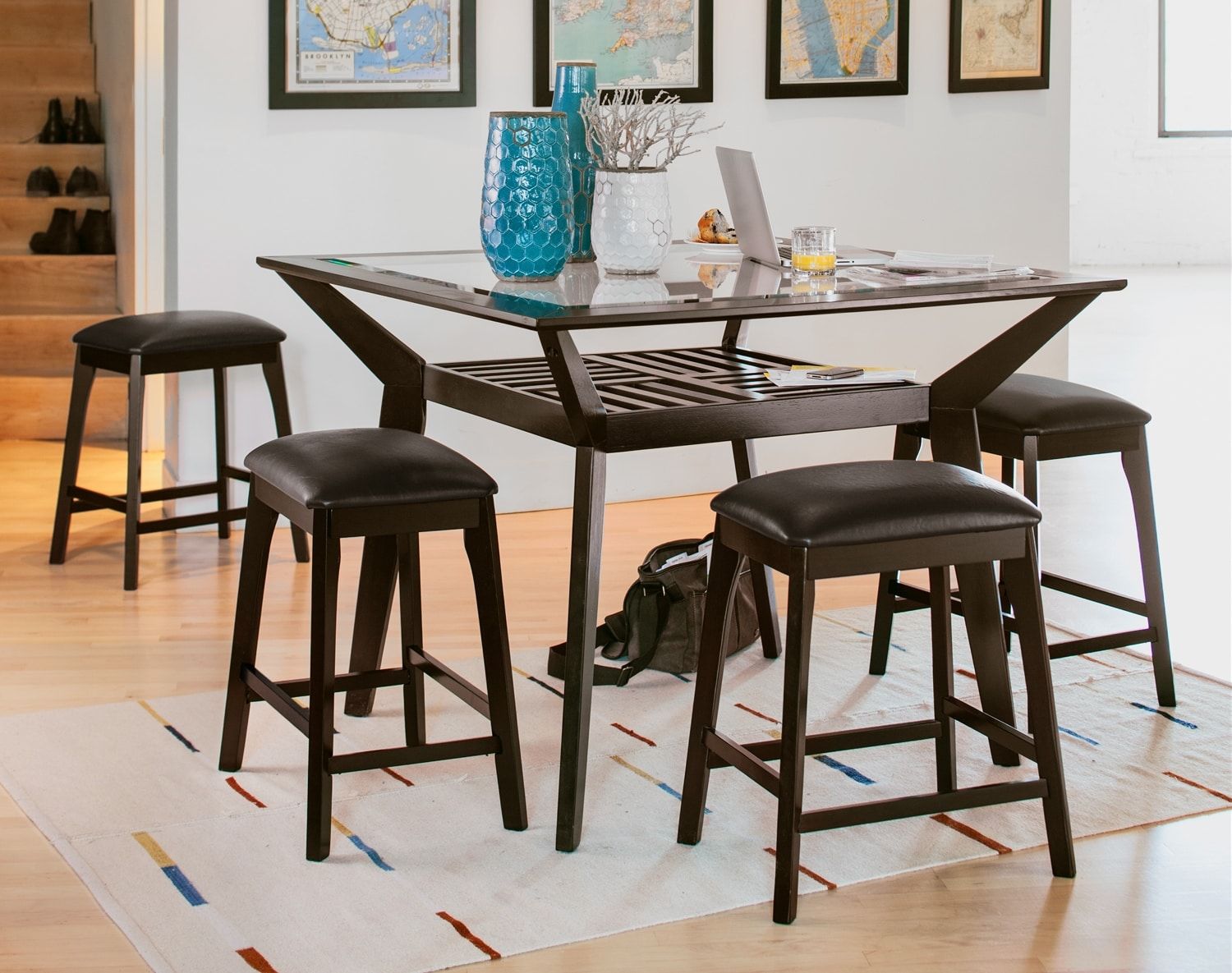 Dining Room Furniture - The Devlin Collection - Counter-Height Table