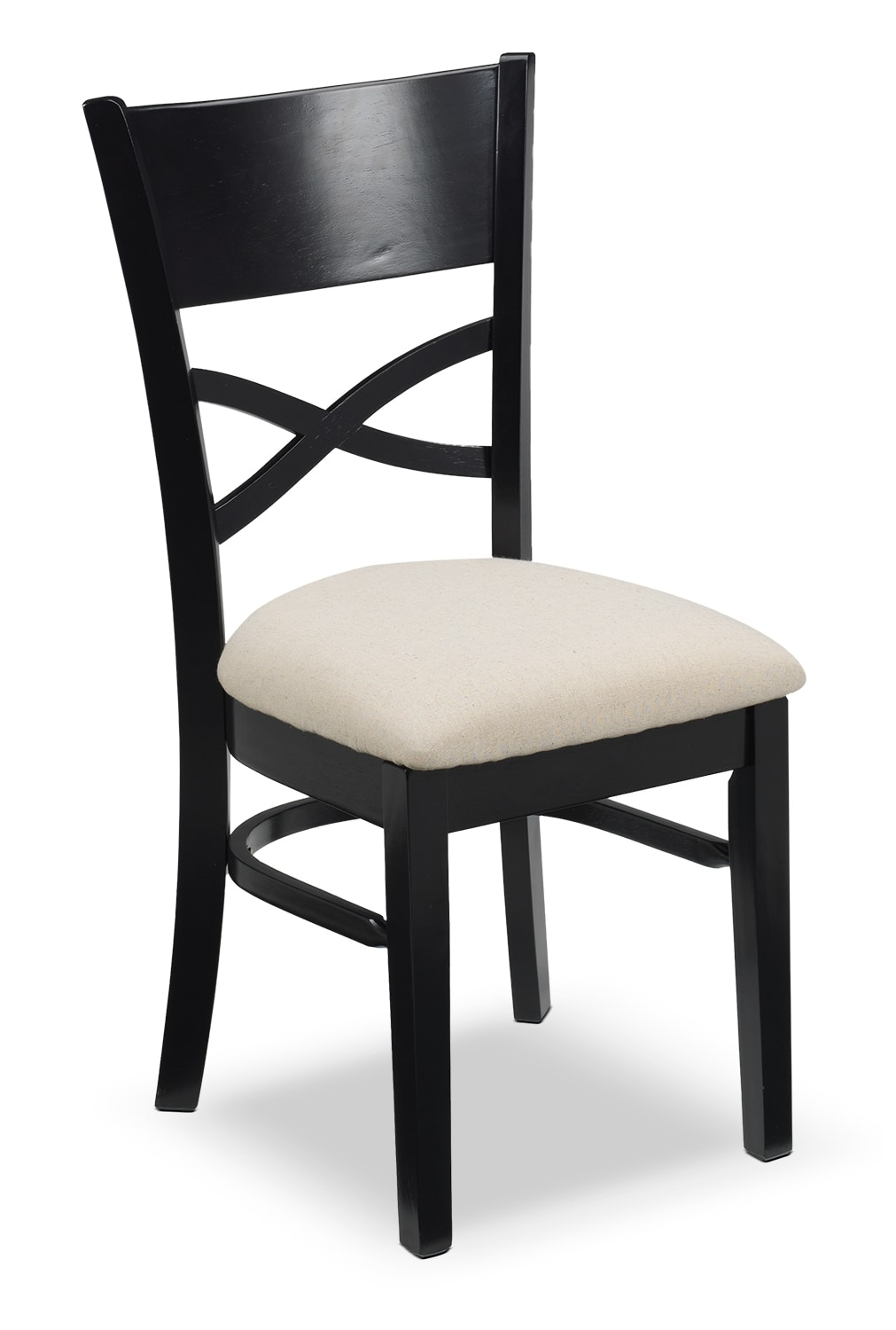 Casual Dining Room Furniture - Hanlon Side Chair - Black