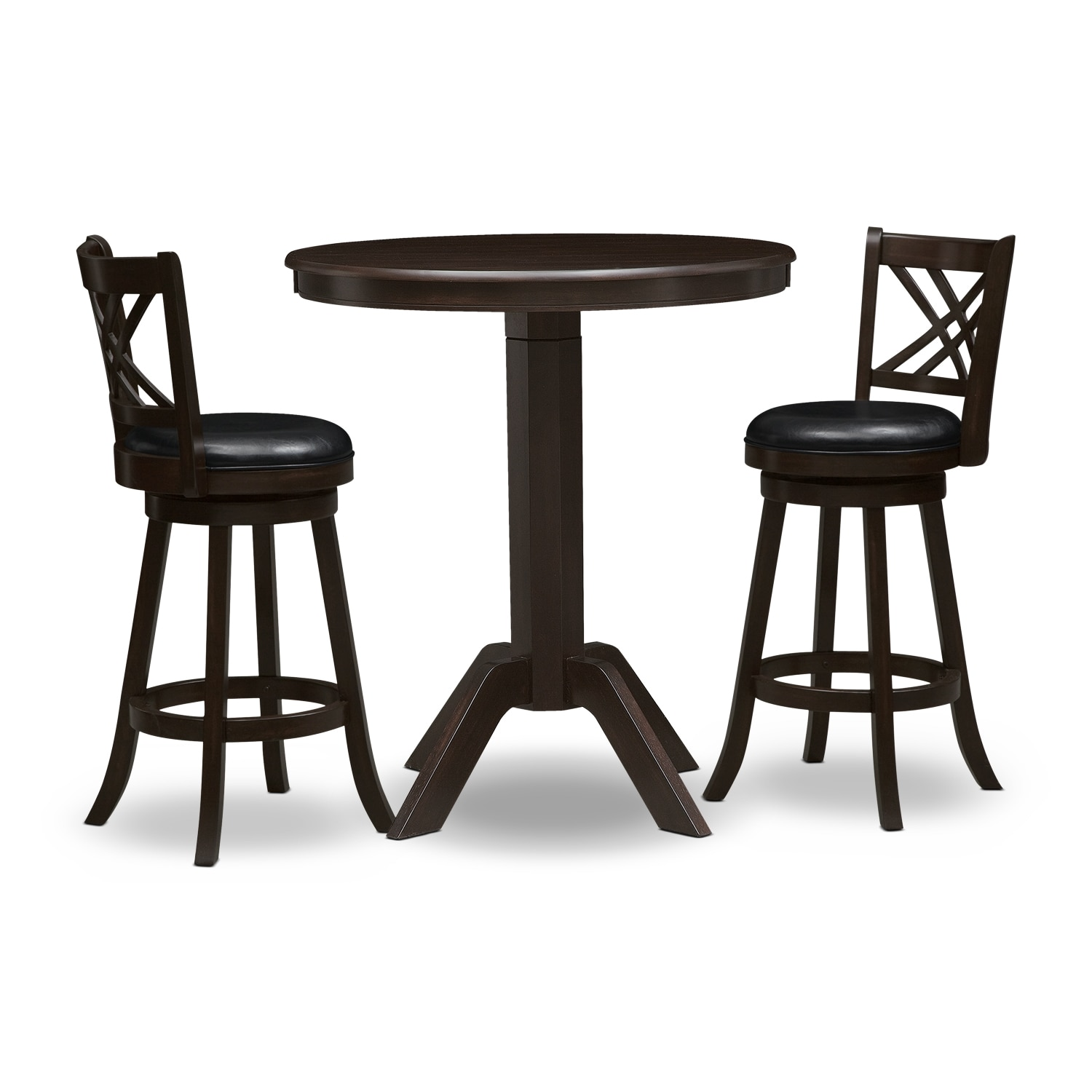 [Concord Merrimac 3 Pc. Bar-Height Dinette]