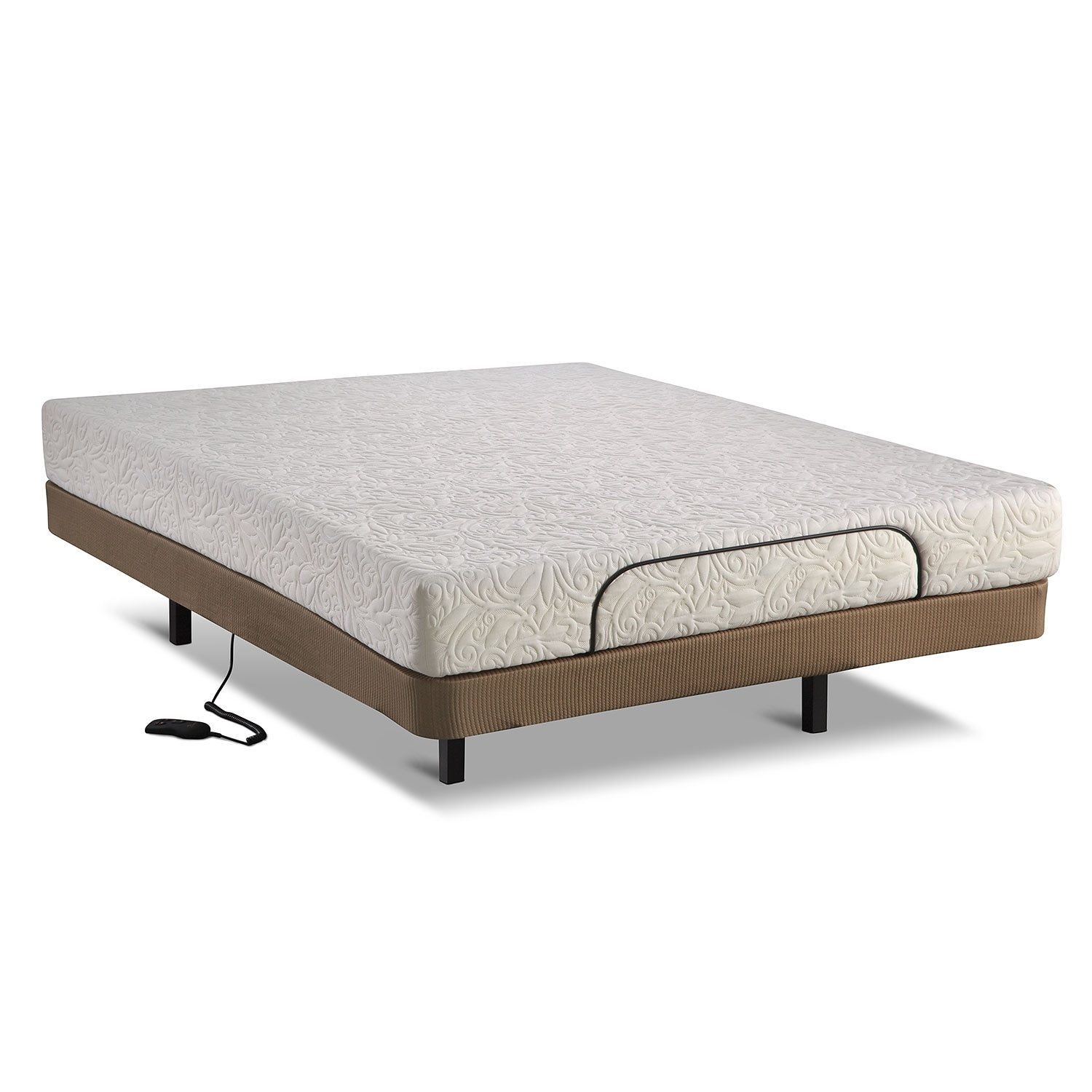 Harmony Adjustable Mattresses And Bedding Queen Mattress Foundation Set Value City Furniture