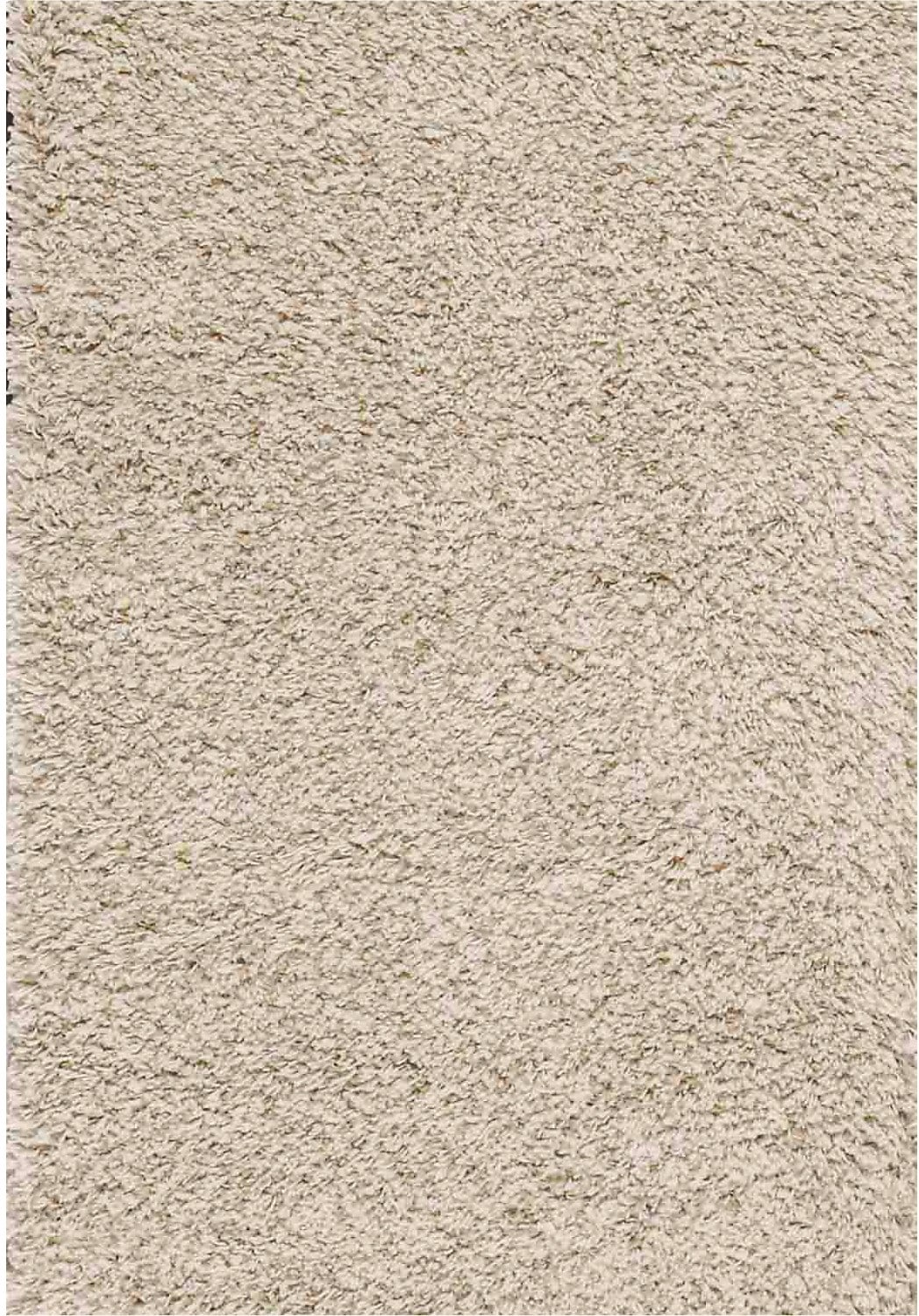 Rugs - 5' x 8' Contemporary Shag Area Rug - Beige