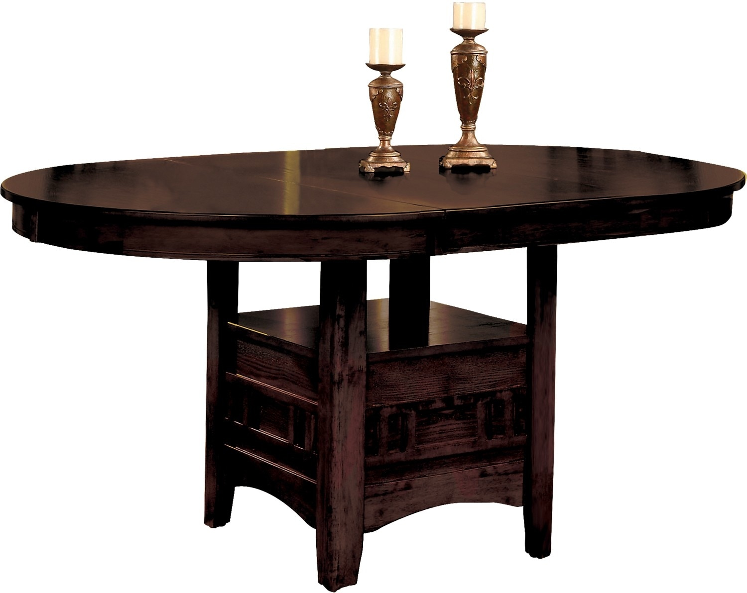 Dalton chocolate dining table the brick for Dining room tables 0 finance