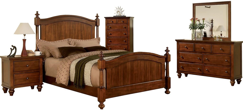 Bedroom Furniture - Kennedy 8-Piece Queen Bedroom Package