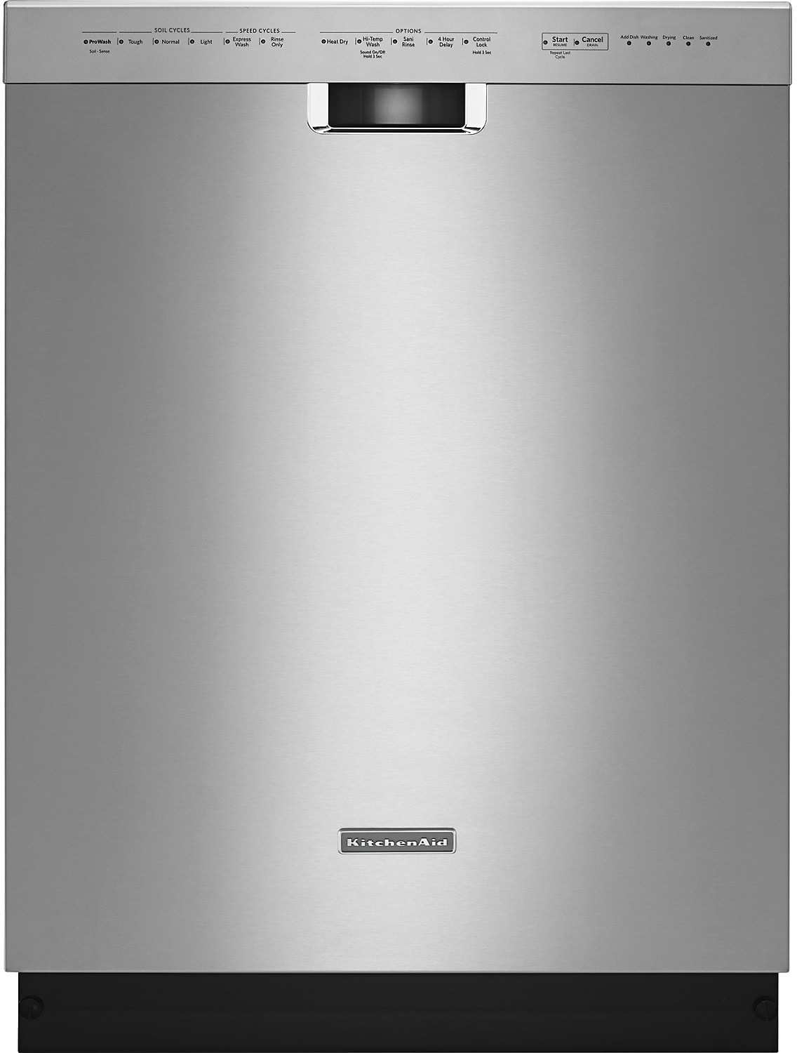 "KitchenAid 24"" Built-In Dishwasher – Stainless Steel"