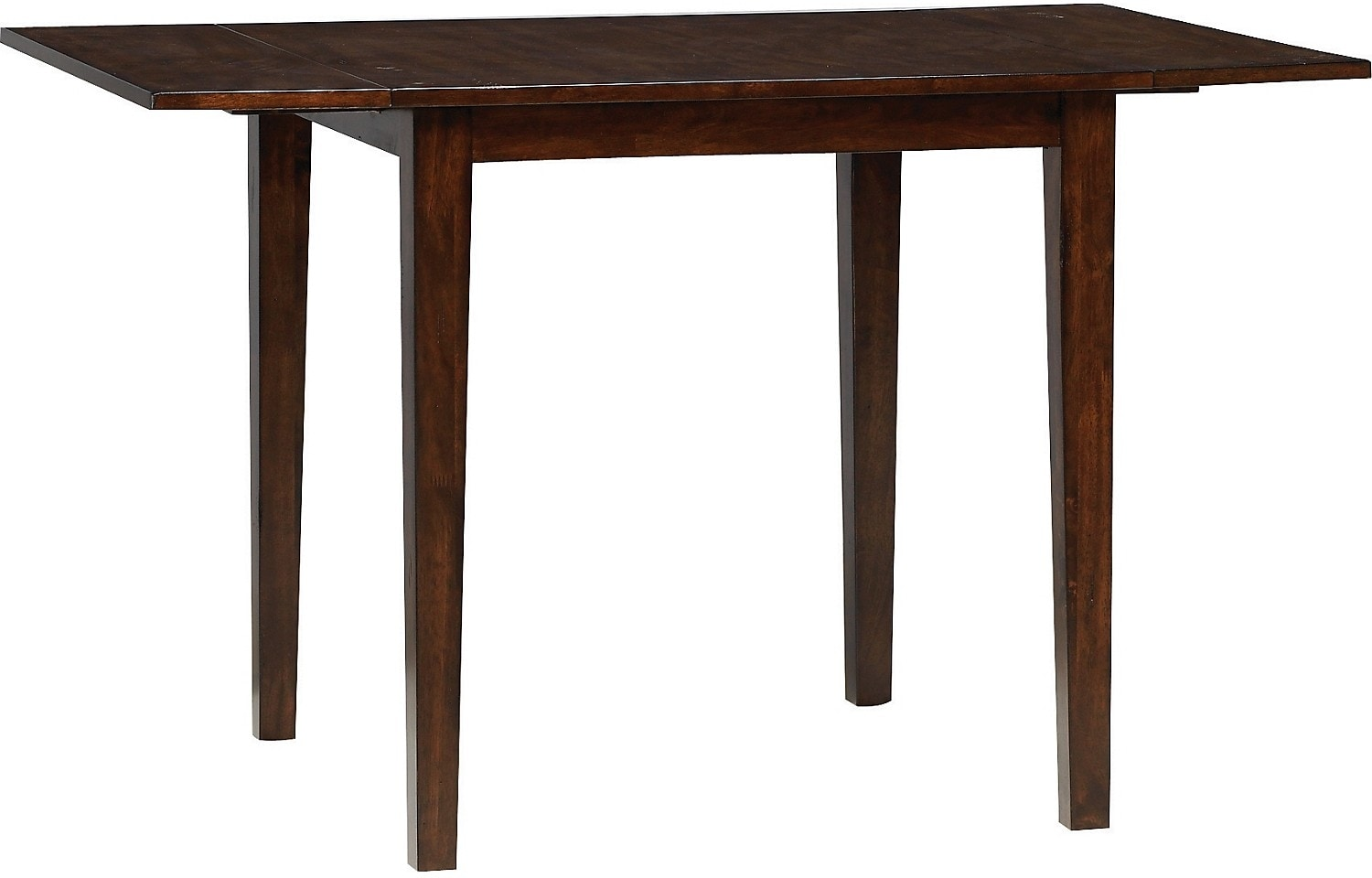 Adara square drop leaf table the brick for Dining room tables drop leaf