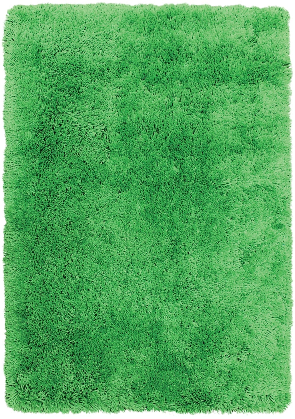 Green Fashion Shag Area Rug – 4' x 5'