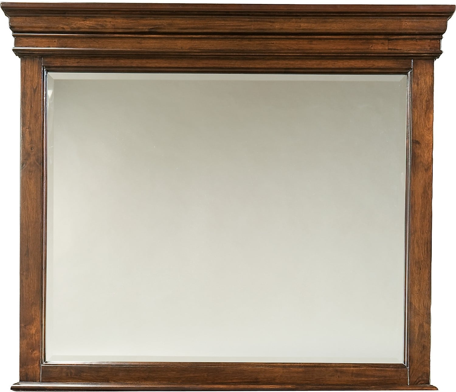 Bedroom Furniture - Bridgeport Mirror - Merlot