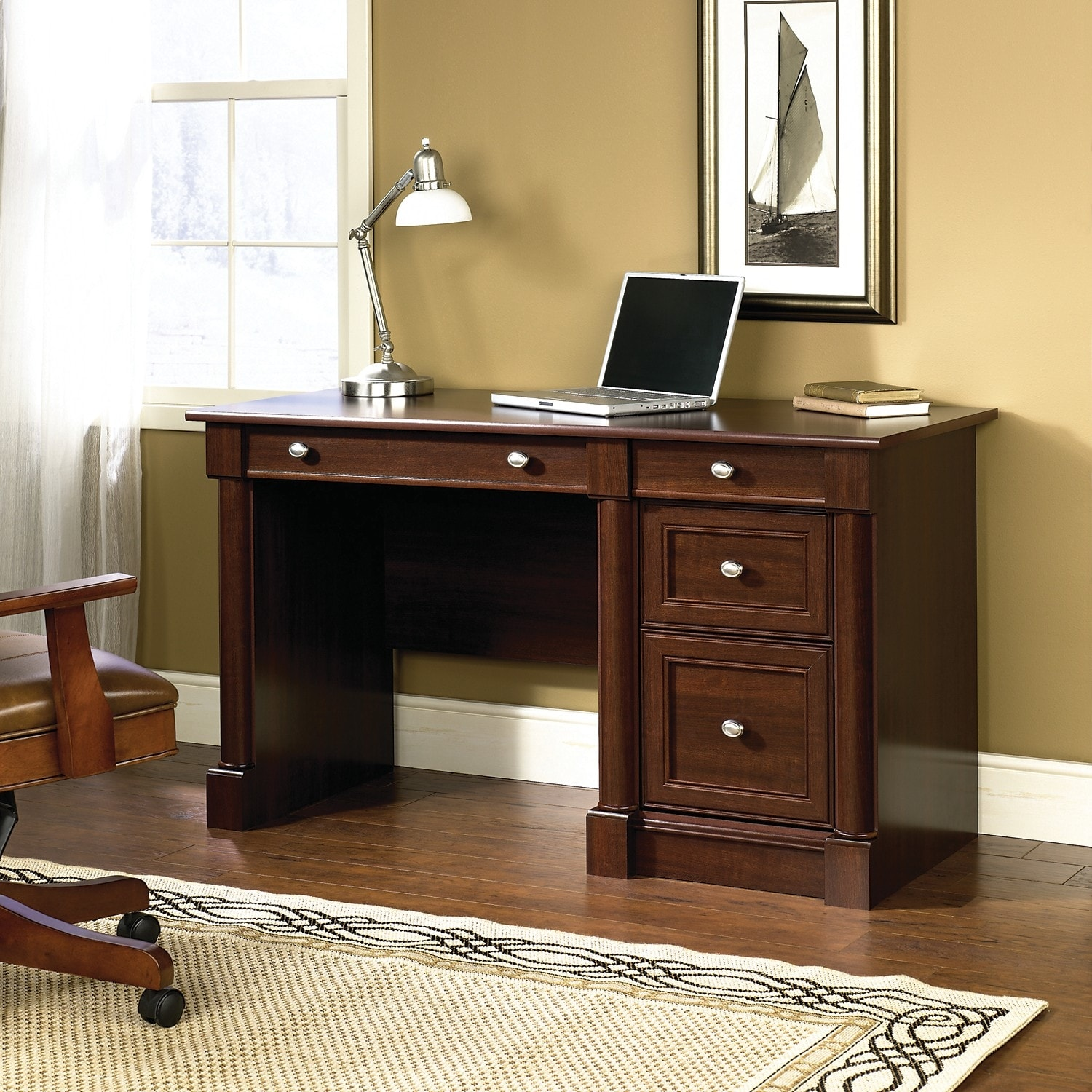 Palladia Desk Select Cherry The Brick