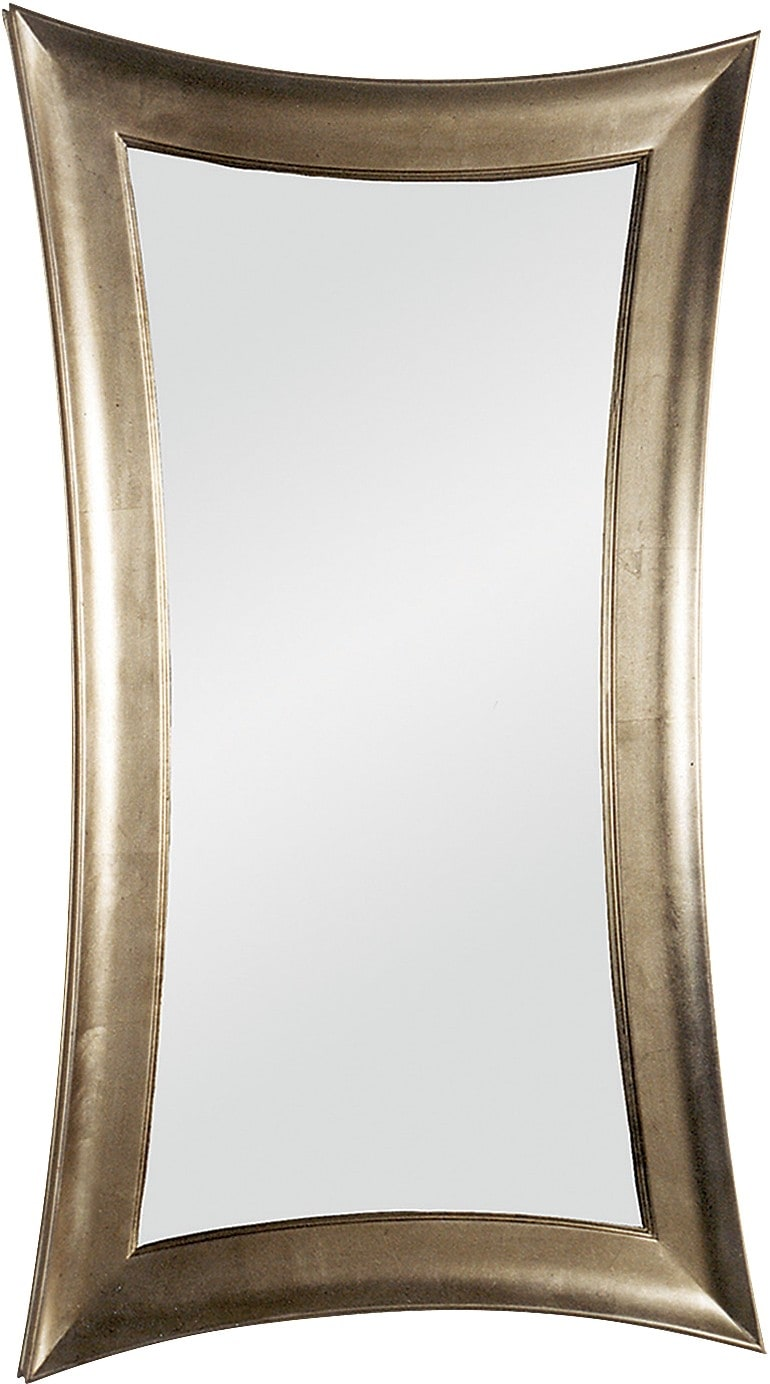 Home Accessories - Gracious Silver Leaf Mirror
