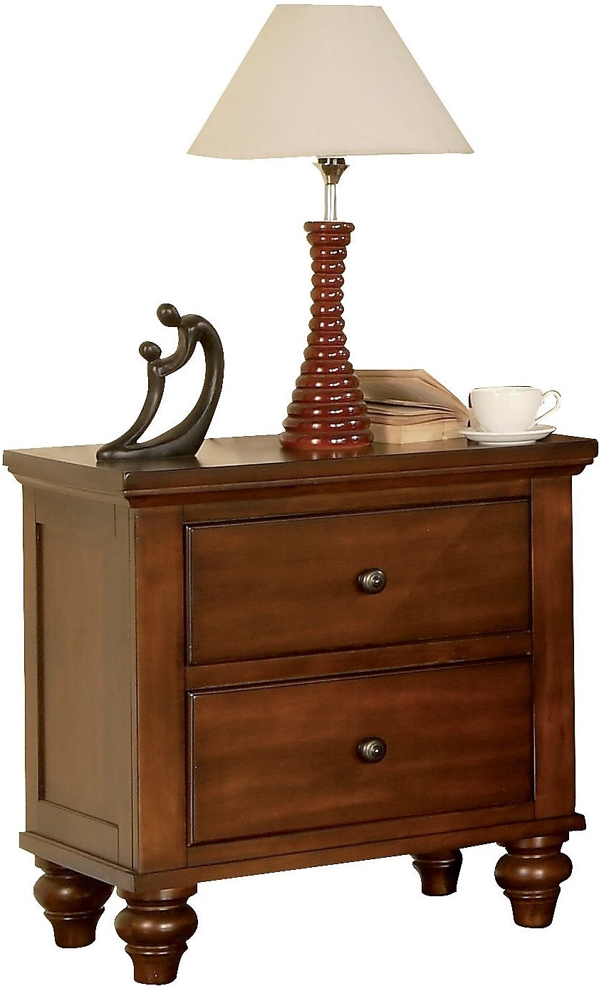 Bedroom Furniture - Kennedy Nightstand - Cherry