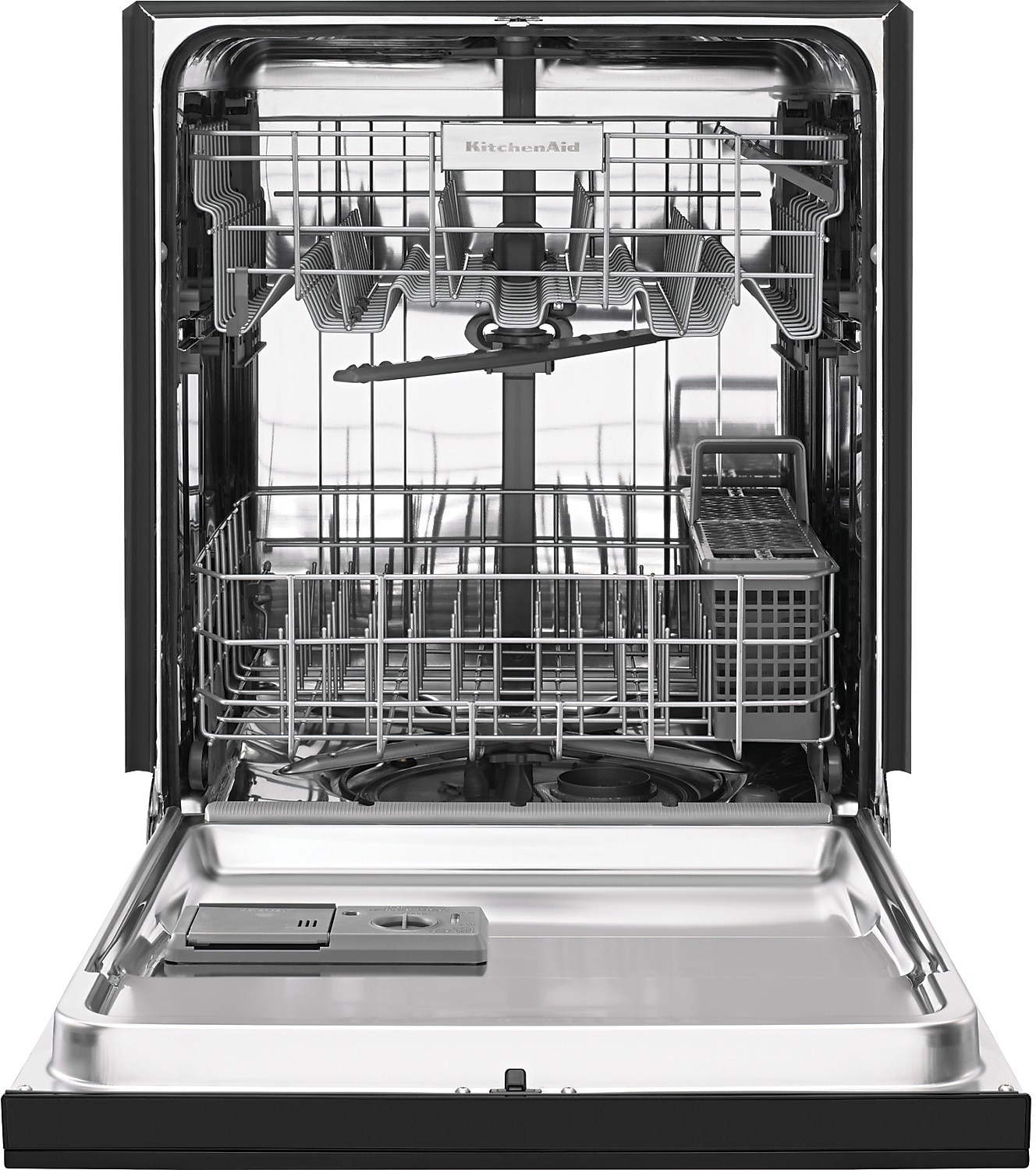 How To Quiet A Dishwasher Kitchenaid 24 Built In Dishwasher Stainless Steel The Brick