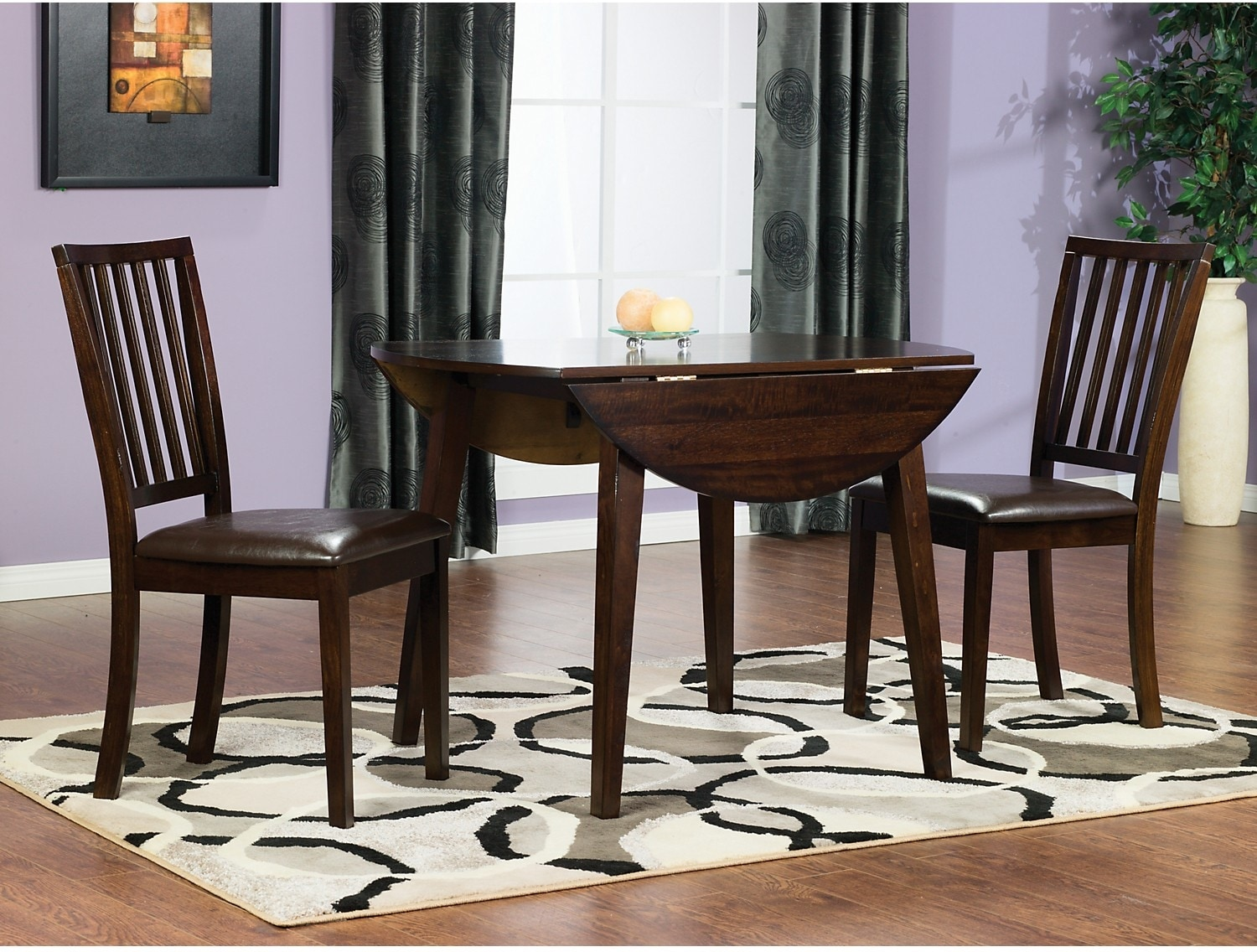 Dining Room Furniture - Dakota 3-Piece Counter Height Dining Package