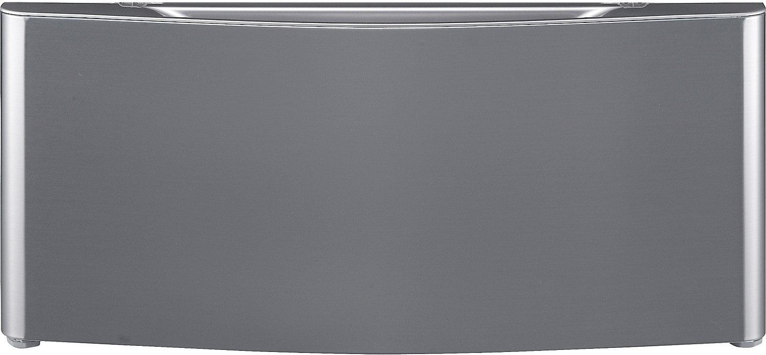"""Washers and Dryers - LG 29"""" Laundry Pedestal - Graphite Steel"""
