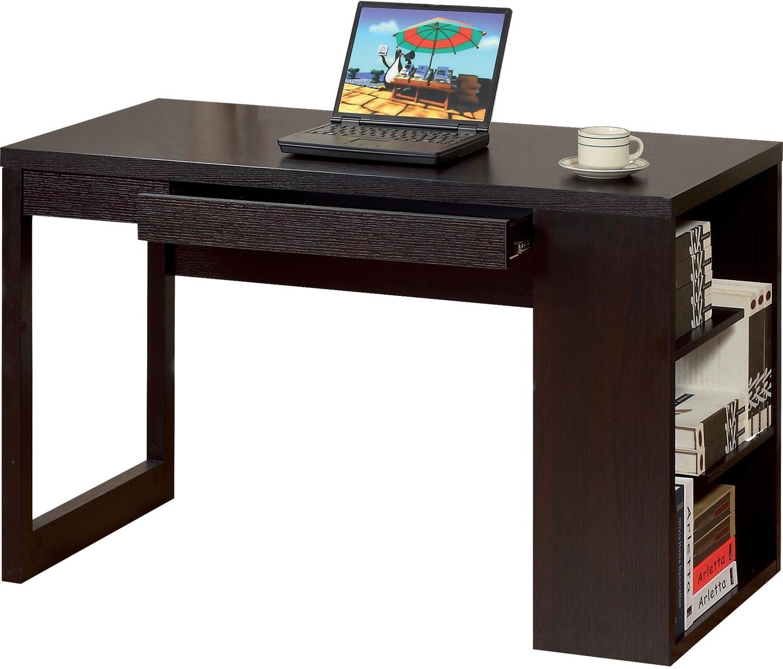 Peyton Desk with Shelves | The Brick