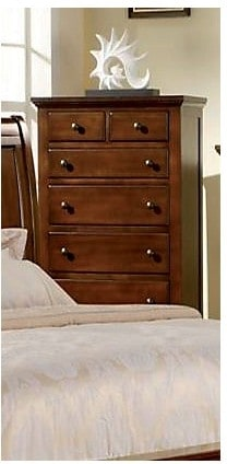 Bedroom Furniture - Kennedy Chest - Cherry