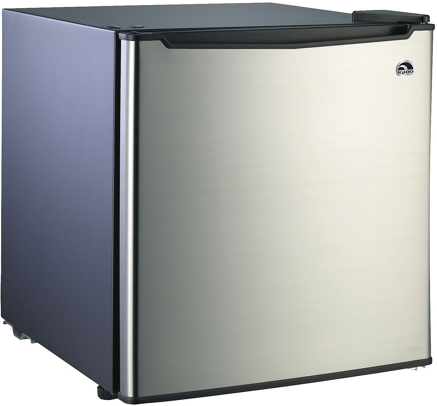 Refrigerators and Freezers - Igloo 1.7 Cu. Ft. Compact Refrigerator - Black with Stainless Steel
