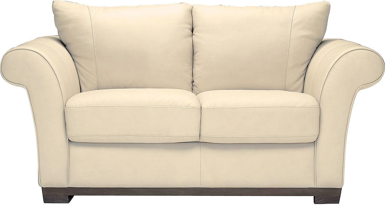 Living Room Furniture - Layla Genuine Leather Loveseat – Ivory