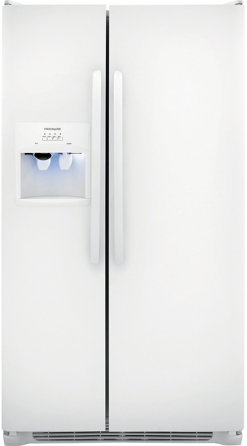 Refrigerators and Freezers - Frigidaire 22.6 Cu. Ft. Side-by-Side Refrigerator - White