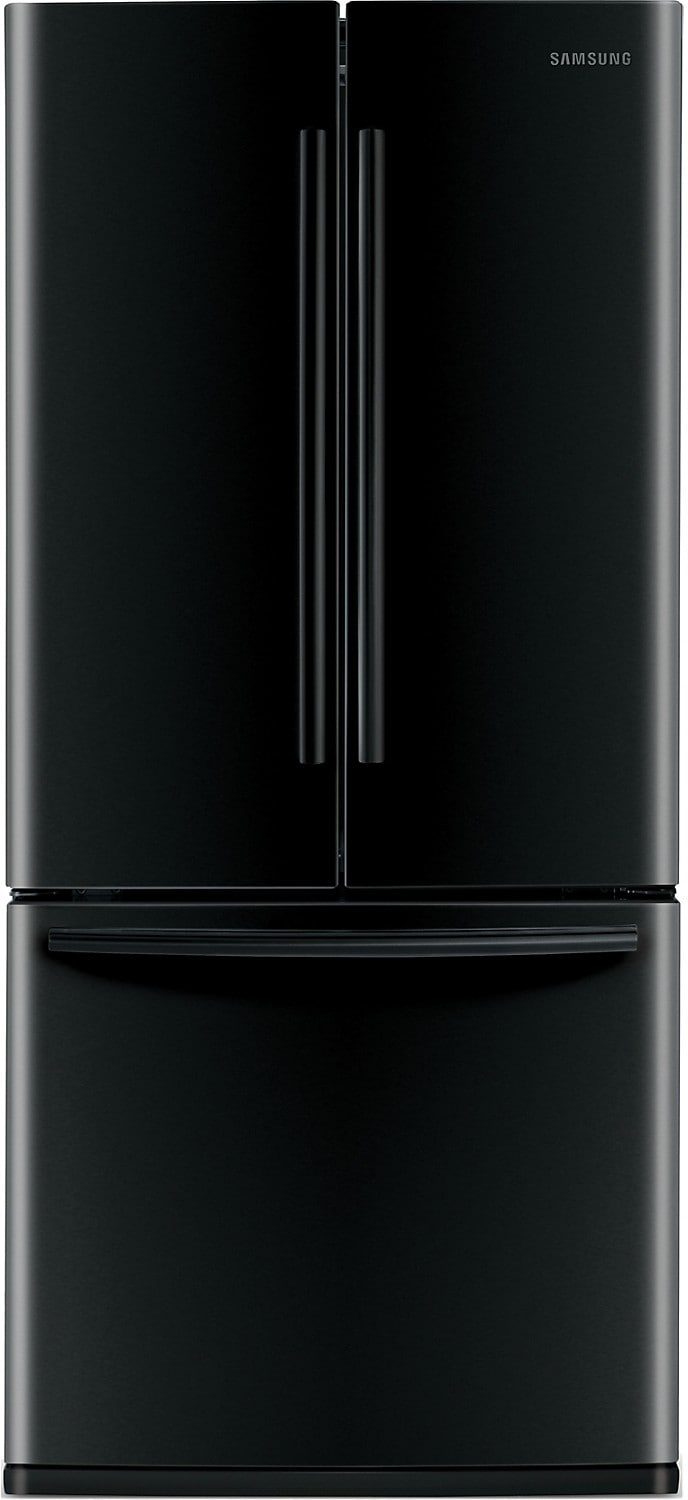 Samsung  22 Cu. Ft. French-Door Refrigerator - Black
