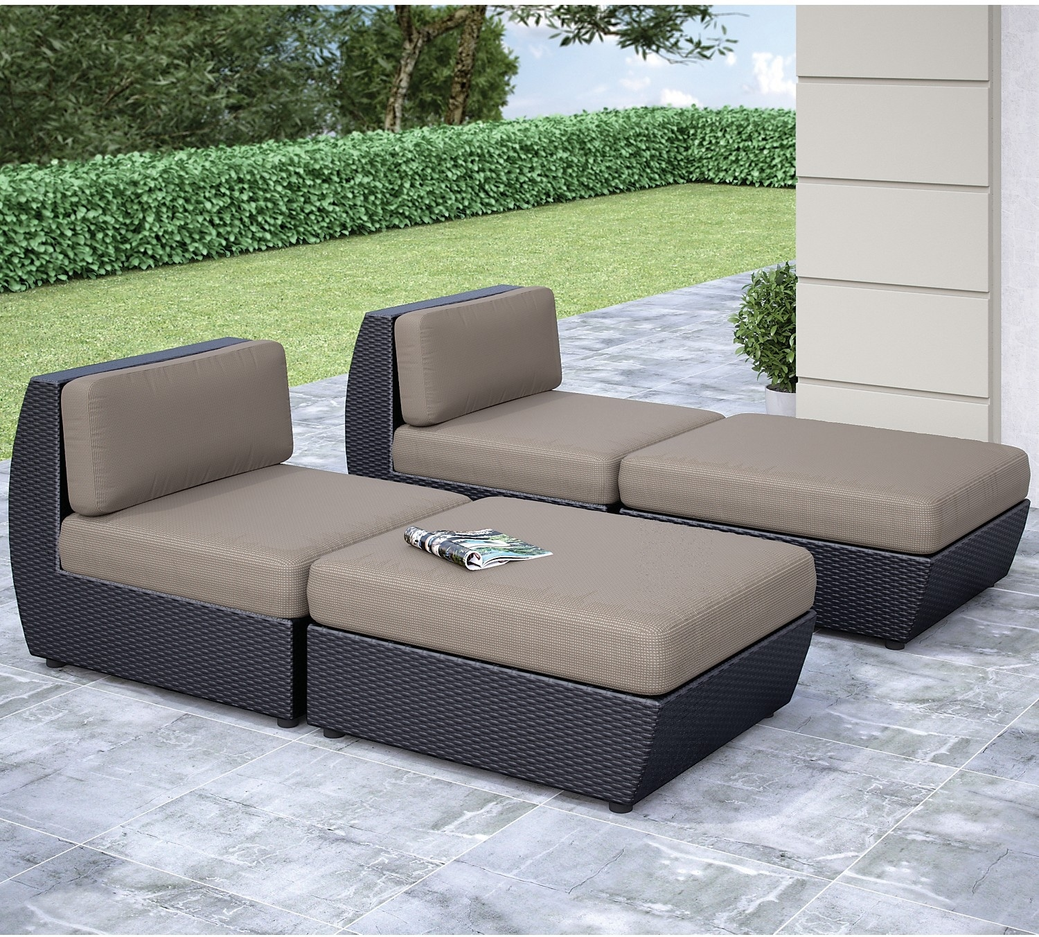 Outdoor Furniture - Seattle Lounger Set
